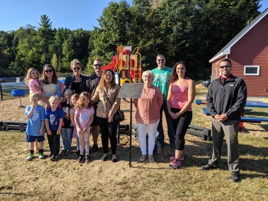 Hartford Brook Playground Plaque Unveiling Ceremony