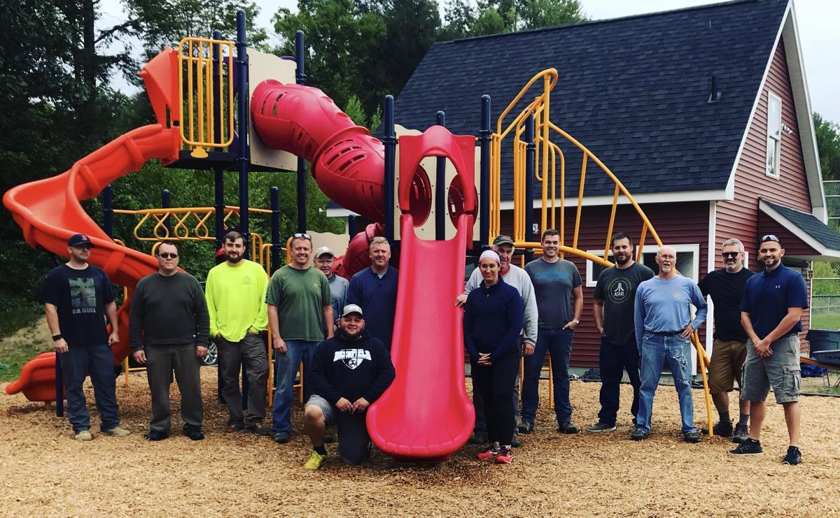 Hartford Brook Playground Project Volunteers!